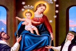 21° giorno: Il Santo Rosario; sostegno nelle lotte